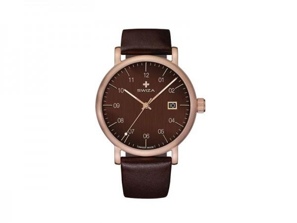 SWIZA Armbanduhr ALZA BROWN