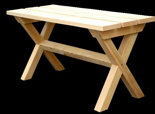 Natürliches aus Holz Hüttentisch, Gartentisch aus Douglasie