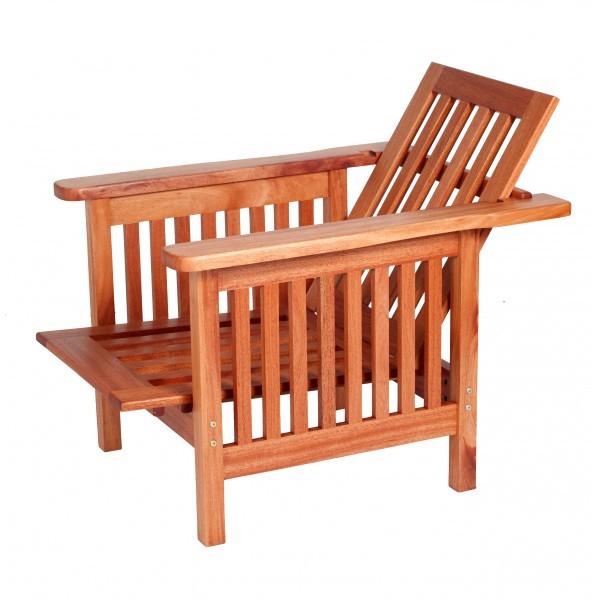 Melvill & Moon Morris Chair Mahogany