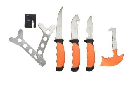 Puma XP 6-teiliges Messer-Zerwirkset mit Nylonetui