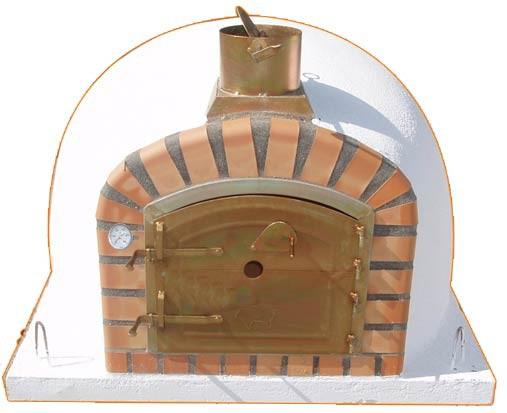 Impexfire holzbefeuerter Pizzaofen, Steinofen Lissabon