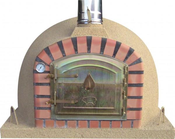 Impexfire Steinofen, Holzbackofen Lissabon 90 creme front